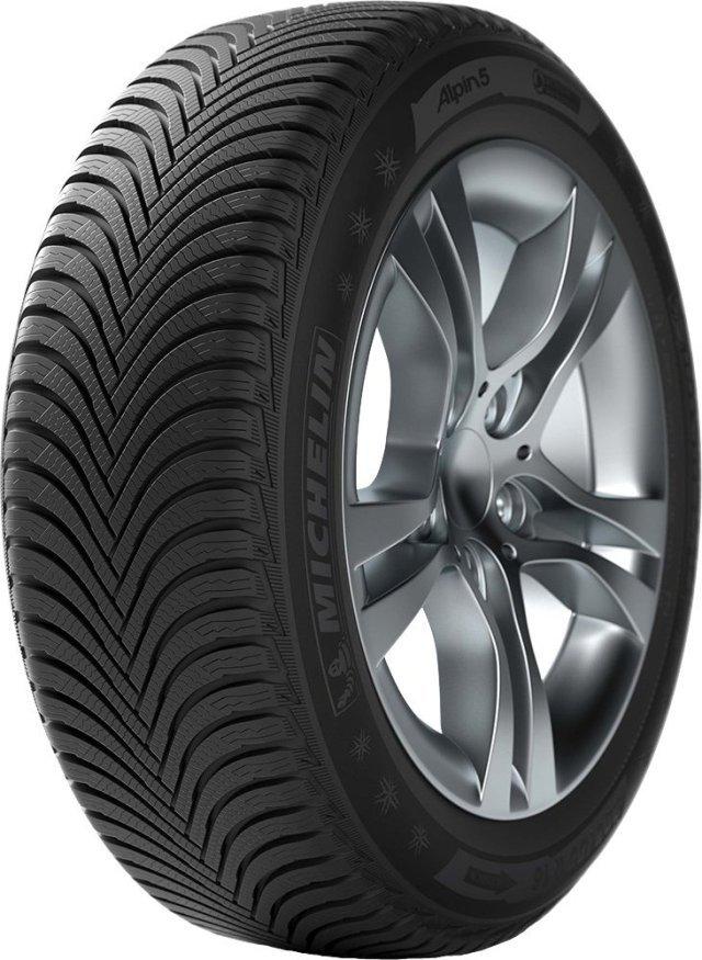 Автомобильная шина Michelin Alpin 5 ZP 205/50 R17 89V Зимняя Run Flat