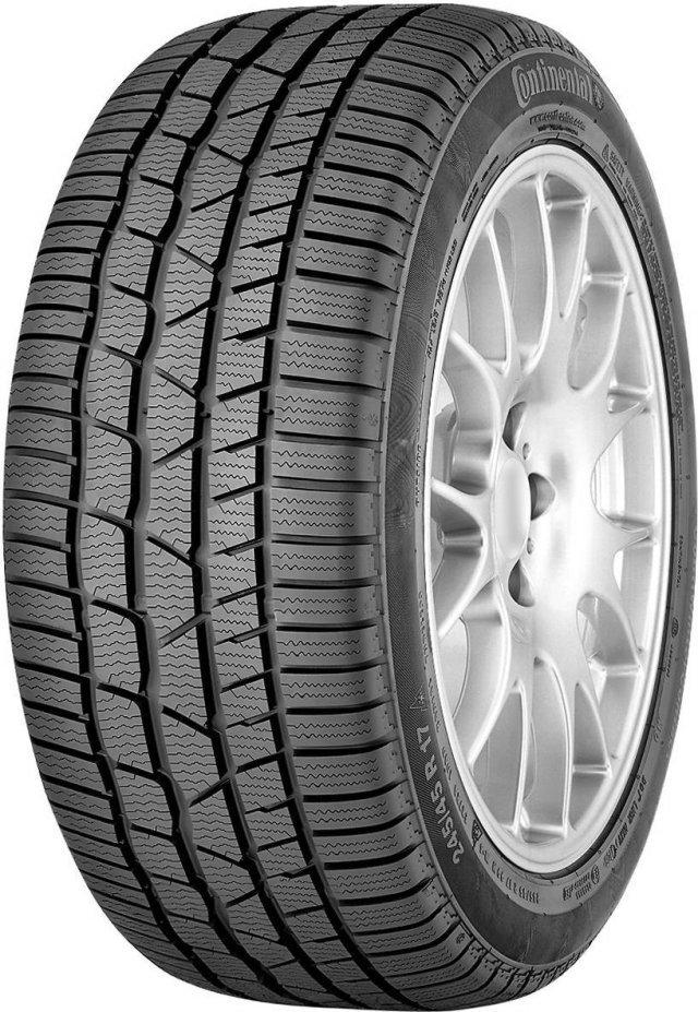 Автомобильная шина Continental ContiWinterContact TS830 P SSR 205/55 R17 91H Зимняя Run Flat