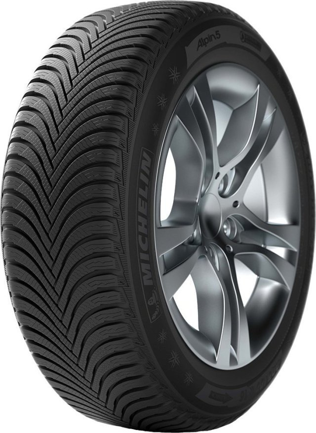 Автомобильная шина Michelin Alpin 5 195/55 R16 91H Зимняя