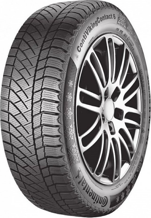 Автомобильная шина Continental ContiVikingContact 6 225/55 R17 101T Зимняя