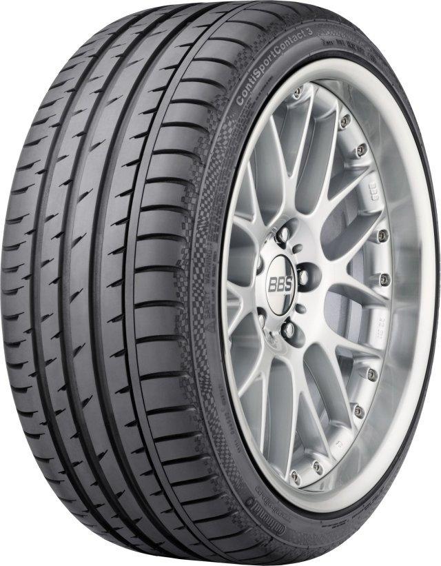 Автомобильная шина Continental ContiSportContact 3 285/40 R19 103Y Летняя
