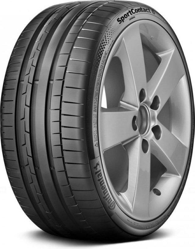 Автомобильная шина Continental SportContact 6 245/35 R19 93Y Летняя