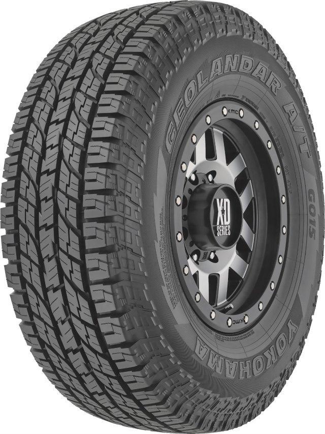 Автомобильная шина Yokohama Geolandar A/T G015 275/65 R17 115H Летняя