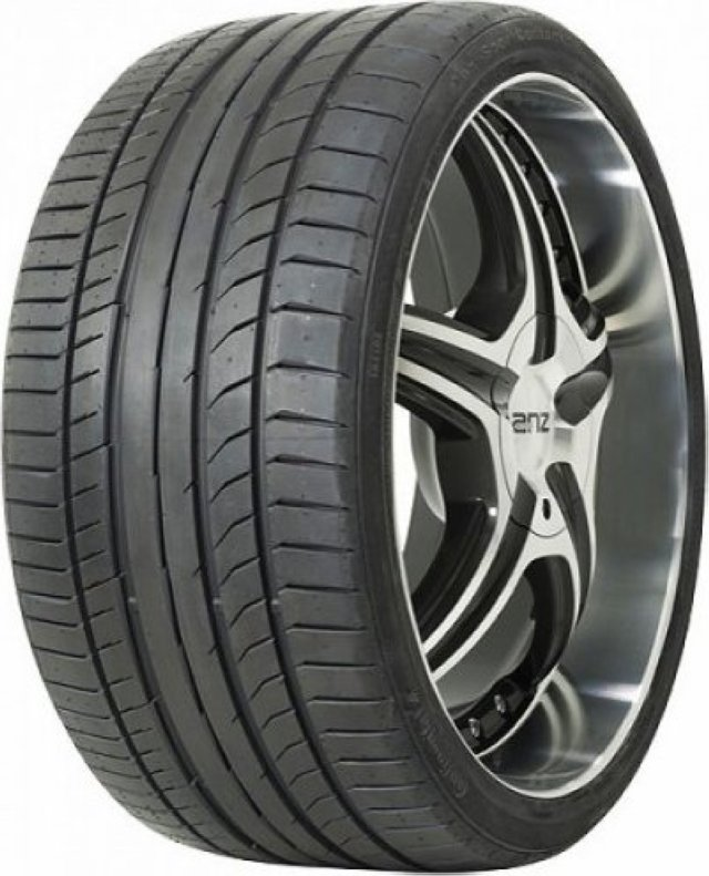 Автомобильная шина Continental ContiSportContact 5P 255/40 R19 100Y Летняя