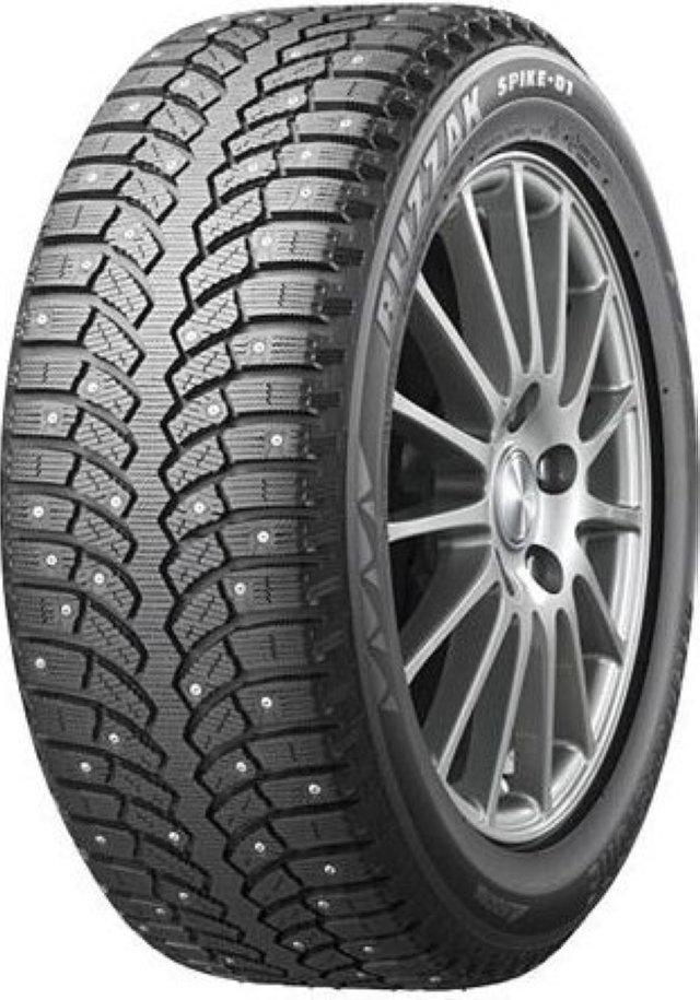 Автомобильная шина Bridgestone Blizzak Spike-01 245/65 R17 111T Зимняя