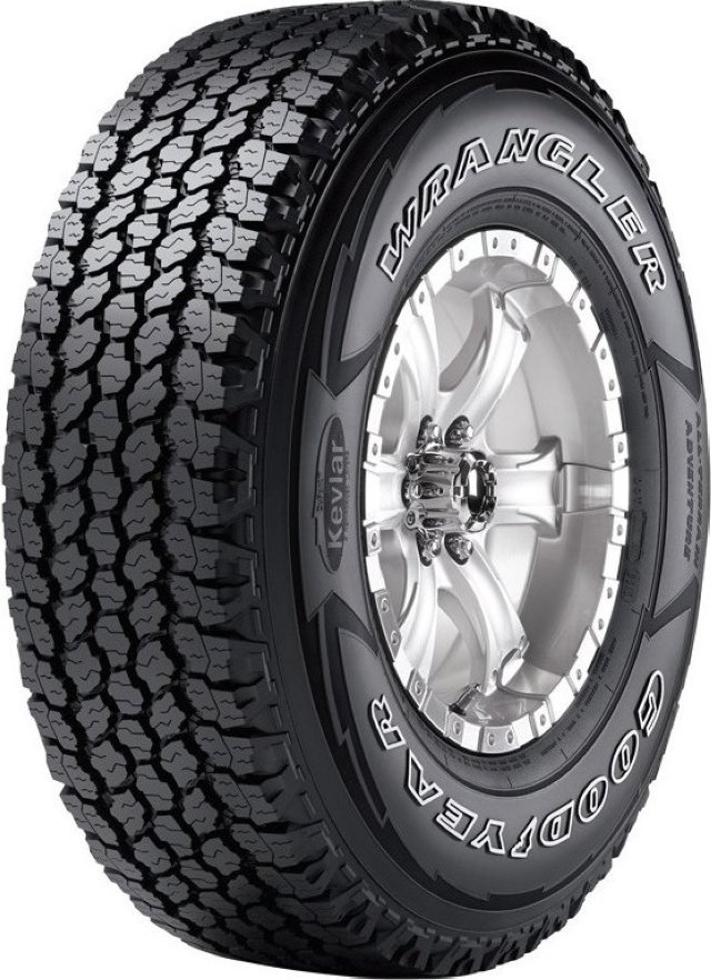 Автомобильная шина Goodyear Wrangler All-Terrain Adventure With Kevlar 235/85 R16 120Q Всесезонная