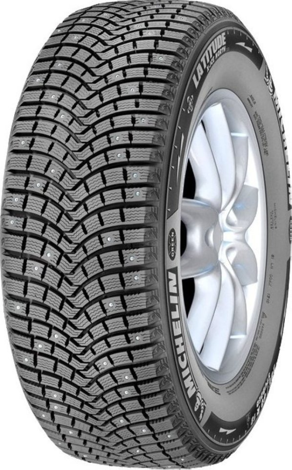 Автомобильная шина Michelin Latitude X-Ice North 2+ 255/50 R19 107T Зимняя Run Flat