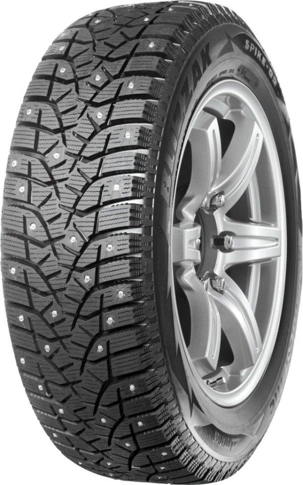 Автомобильная шина Bridgestone Blizzak SPIKE-02 195/55 R16 87T Зимняя
