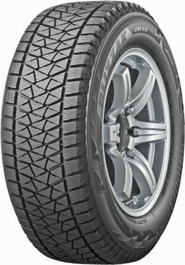 Автомобильная шина Bridgestone Blizzak DM-V2 235/60 R17 102S Зимняя