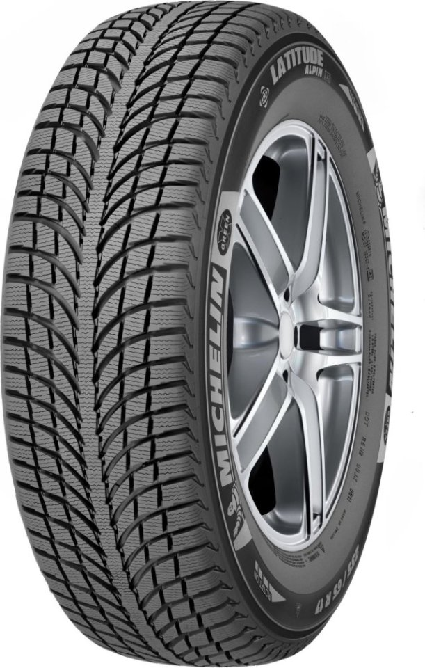 Автомобильная шина Michelin LATITUDE Alpin A2 ZP 255/50 R19 107V Зимняя Run Flat