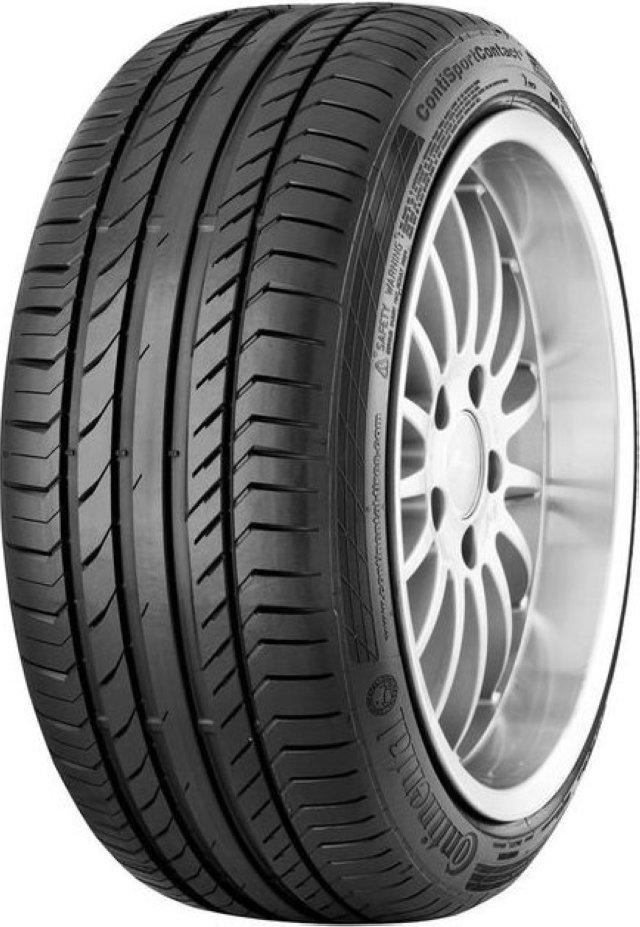 Автомобильная шина Continental ContiSportContact 5 SUV 255/55 R18 109H Летняя Run Flat