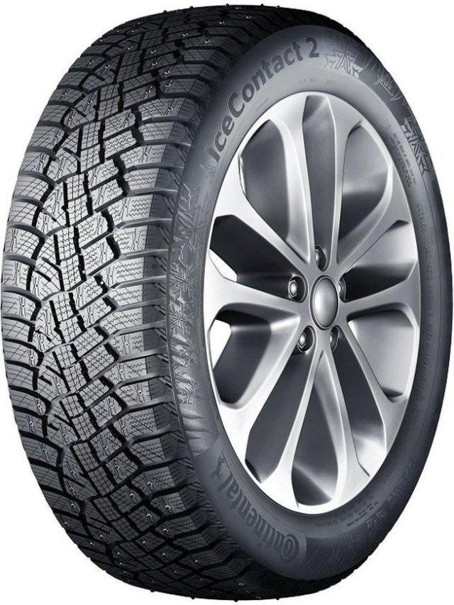 Автомобильная шина Continental IceContact 2 215/55 R17 98T Зимняя