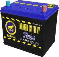 Аккумулятор 6СТ 60 TYUMEN BATTERY ASIA L 550 A (EN) 230х172х221 конус обратная