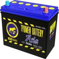 Аккумулятор 6СТ 50 TYUMEN BATTERY ASIA L 440 A (EN) 236х128х223 конус обратная