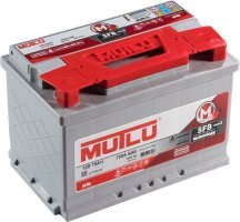 Аккумулятор 6СТ 75 MUTLU SFB 3 L3.75.072.B 720 A (EN) 278х175х190 конус прямая