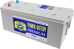 Аккумулятор 6СТ 230 TYUMEN BATTERY PREMIUM L 1520 A (EN) 518х278х235 конус обратная