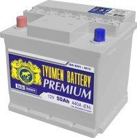 Аккумулятор 6СТ 50 TYUMEN BATTERY PREMIUM L 440 A (EN) 206х175х190 конус обратная