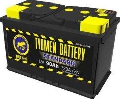 Аккумулятор 6СТ 90 TYUMEN BATTERY STANDARD L 720 A (EN) 324х175х210 конус прямая